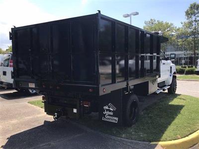 2019 Chevrolet Silverado Medium Duty Crew Cab DRW 4x4, Johnie Gregory Truck Bodies, Inc. Landscape Dump #CN93320 - photo 2