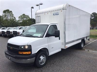 2019 Chevrolet Express 3500 RWD, Bay Bridge Sheet and Post Cutaway Van #CN93460 - photo 4