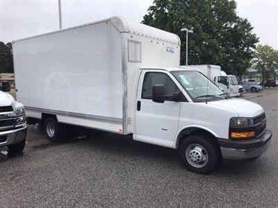 2019 Chevrolet Express 3500 RWD, Bay Bridge Sheet and Post Cutaway Van #CN93460 - photo 8