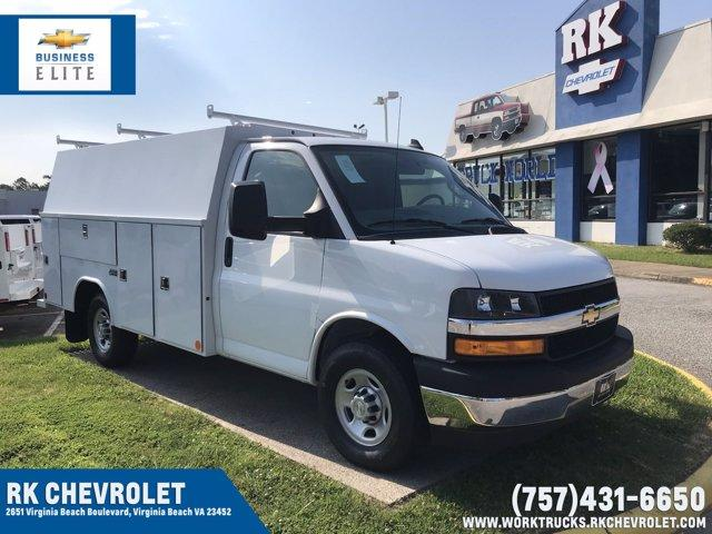 2019 Chevrolet Express 3500 RWD, Reading Service Utility Van #CN93462 - photo 1