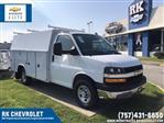 2019 Chevrolet Express 3500 RWD, Reading Aluminum CSV Service Utility Van #CN93462 - photo 1