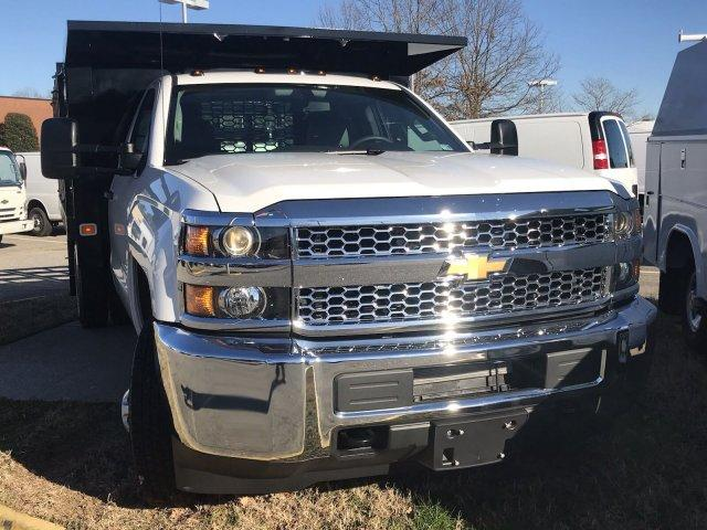 2019 Silverado 3500 Regular Cab DRW 4x4,  Knapheide Stake Bed #CN97545 - photo 10