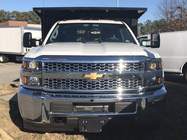 2019 Silverado 3500 Regular Cab DRW 4x4,  Knapheide Stake Bed #CN97545 - photo 3