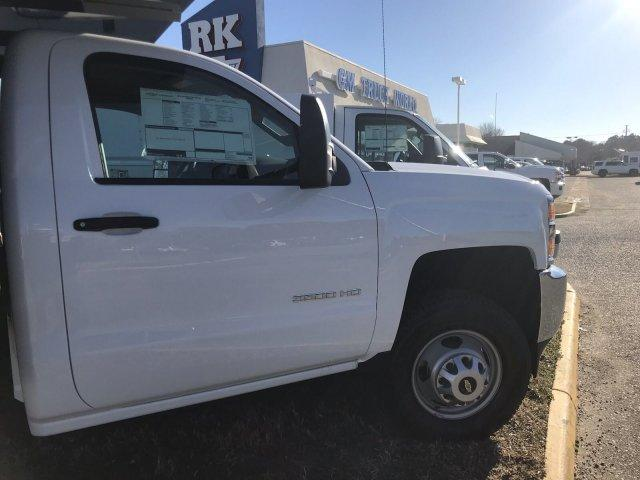 2019 Silverado 3500 Regular Cab DRW 4x4,  Knapheide Stake Bed #CN97545 - photo 7