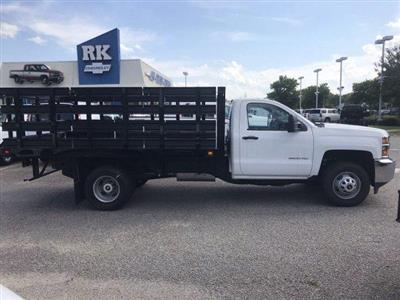 2019 Silverado 3500 Regular Cab DRW 4x2,  Knapheide Value-Master X Platform Body #CN98499 - photo 8
