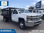 2019 Silverado 3500 Regular Cab DRW 4x2,  Knapheide Platform Body #CN98499 - photo 1