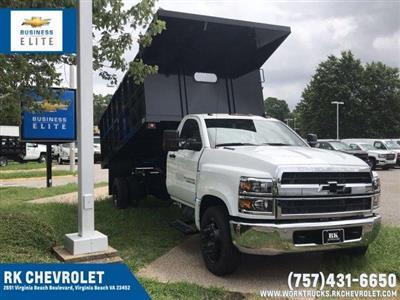 2019 Silverado Medium Duty Regular Cab DRW 4x2,  Johnie Gregory Truck Bodies, Inc. Johnie Gregory Truck Bodies Default Landscape Dump #CN98853 - photo 1