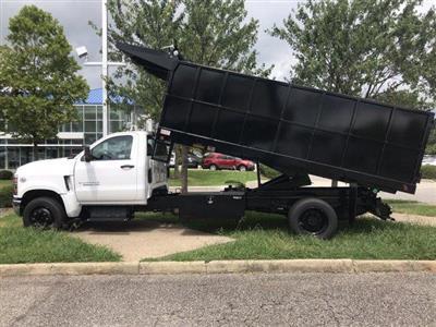 2019 Silverado Medium Duty Regular Cab DRW 4x2,  Johnie Gregory Truck Bodies, Inc. Johnie Gregory Truck Bodies Default Landscape Dump #CN98853 - photo 4