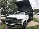2019 Silverado Medium Duty DRW 4x2,  Johnie Gregory Truck Bodies, Inc. Johnie Gregory Truck Bodies Default Landscape Dump #CN98853 - photo 3