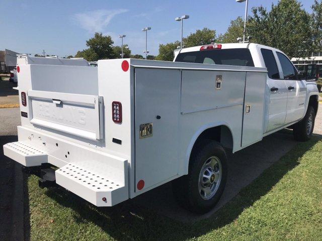 2019 Silverado 2500 Double Cab 4x4,  Reading Service Body #CN99136 - photo 1