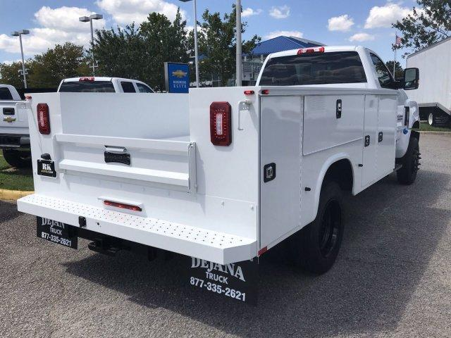 2019 Silverado Medium Duty Regular Cab DRW 4x4,  Knapheide Service Body #CN99555 - photo 1