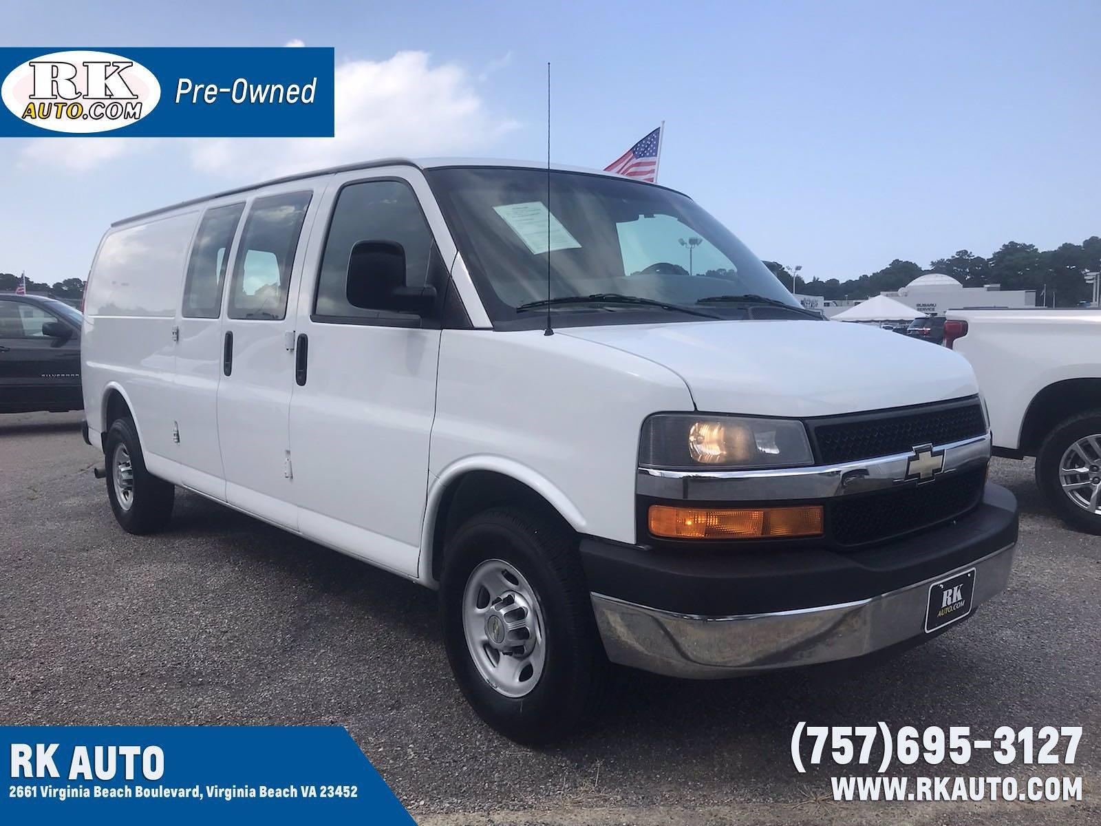 2014 Chevrolet Express 3500 4x2, Upfitted Cargo Van #CU16668P - photo 1
