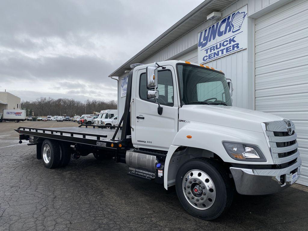 2020 Hino Truck Single Cab RWD, Miller Industries Rollback Body #22781W - photo 1