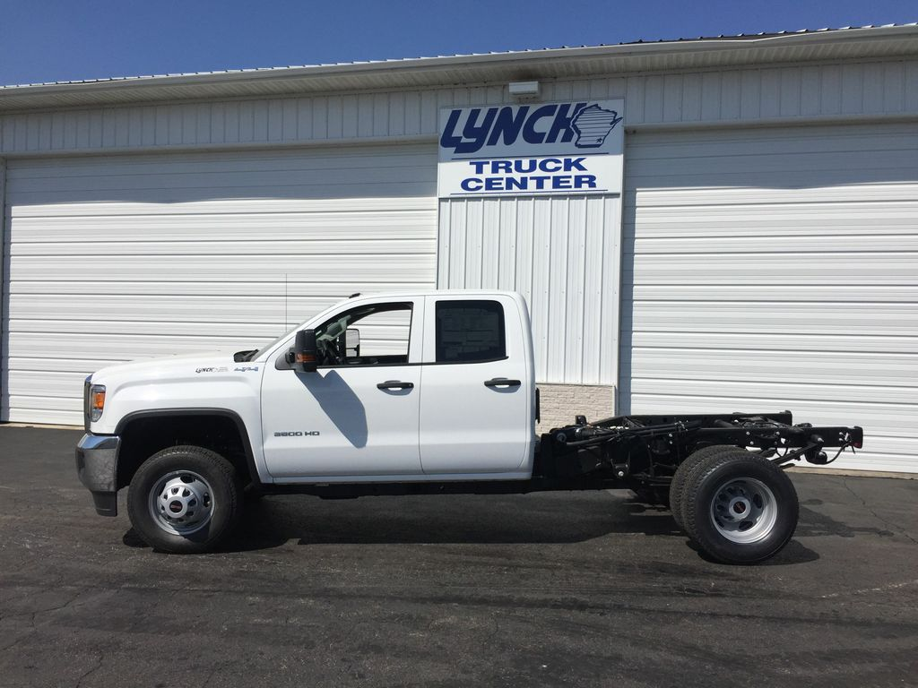 2018 Sierra 3500 Extended Cab 4x4,  Cab Chassis #21484T - photo 4