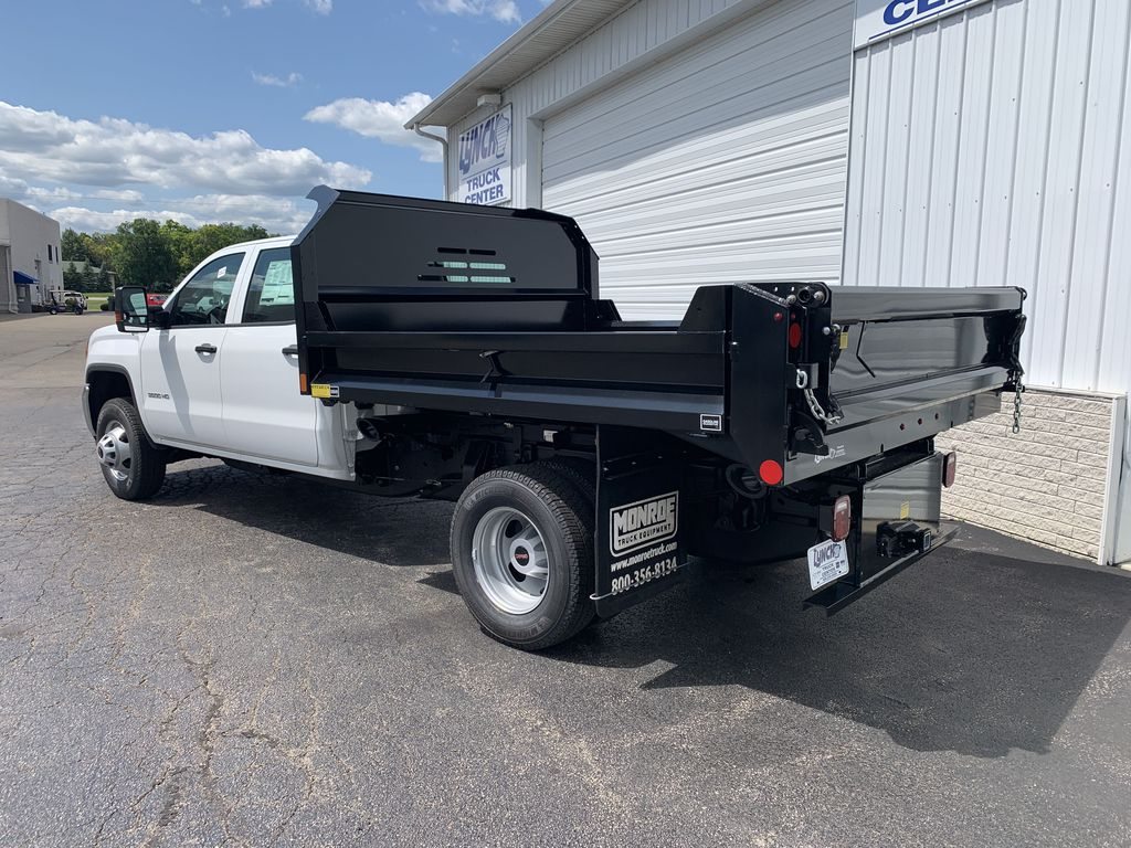 2019 Sierra 3500 Crew Cab DRW 4x4, Monroe Dump Body #22297T - photo 1