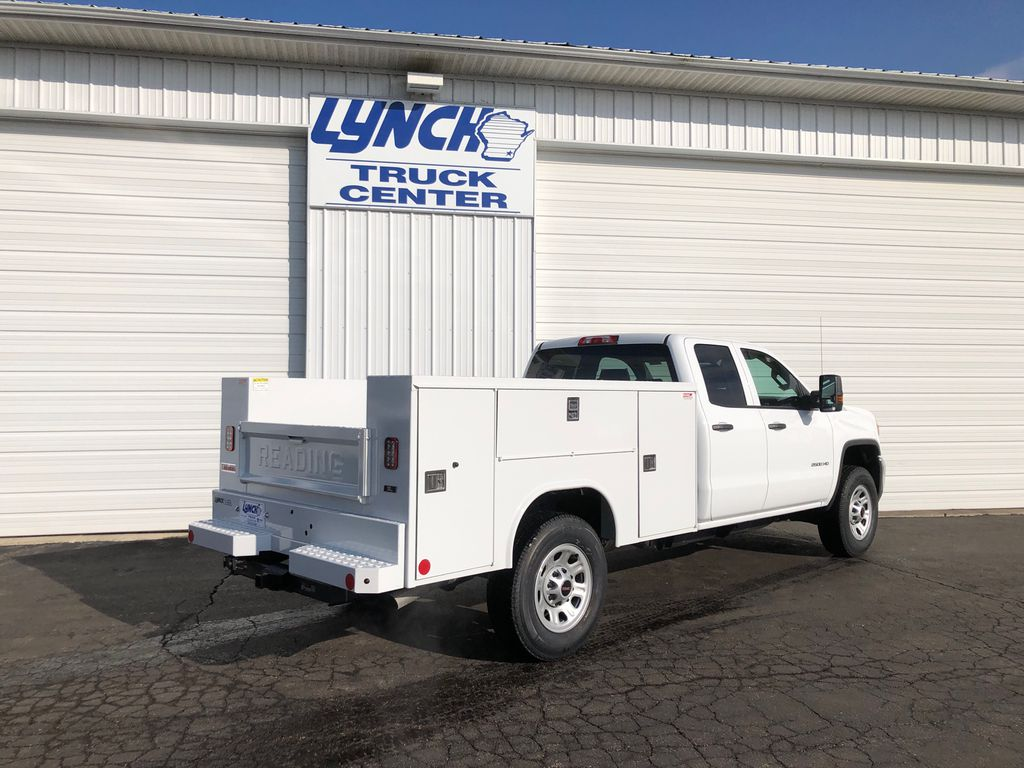 2019 Sierra 2500 Double Cab 4x4, Reading SL Service Body #22857T - photo 12