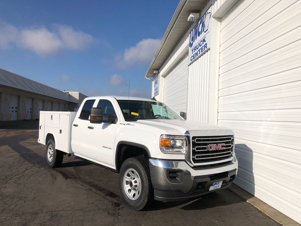 2019 Sierra 2500 Double Cab 4x4, Reading SL Service Body #22857T - photo 14