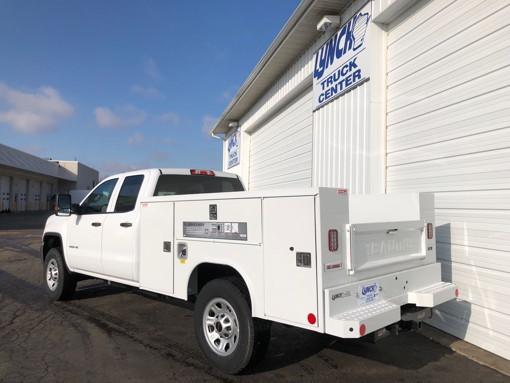 2019 Sierra 2500 Extended Cab 4x4, Reading SL Service Body #22857T - photo 2