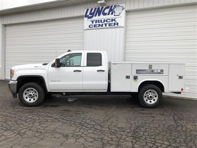 2019 Sierra 2500 Extended Cab 4x4, Reading SL Service Body #22859T - photo 4