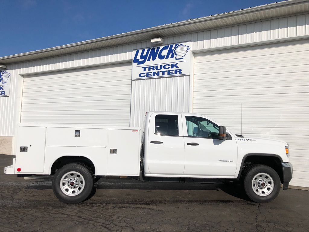 2019 Sierra 2500 Double Cab 4x4, Reading SL Service Body #22877T - photo 13