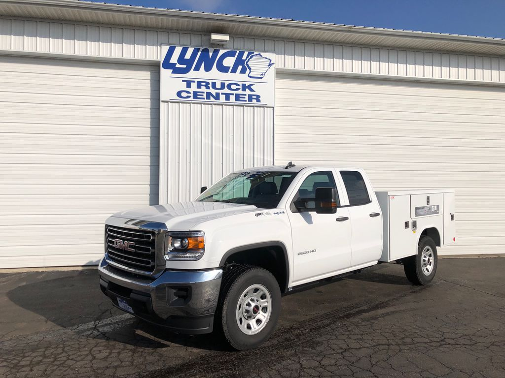 2019 GMC Sierra 2500 Double Cab 4x4, Reading Service Body #22877T - photo 1