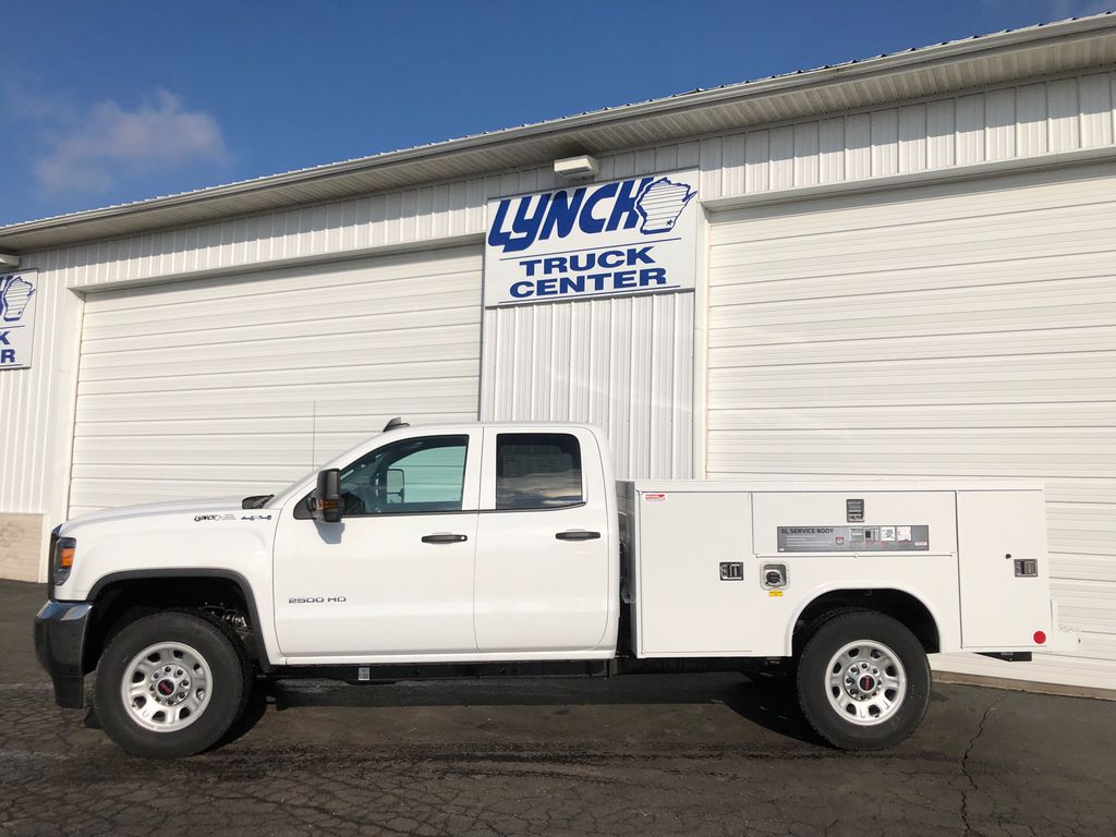 2019 Sierra 2500 Double Cab 4x4, Reading SL Service Body #22877T - photo 4