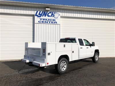 2019 Sierra 2500 Double Cab 4x4, Reading SL Service Body #22877T - photo 12