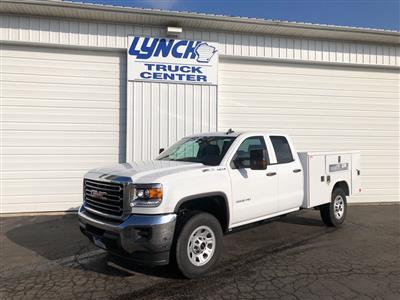 2019 Sierra 2500 Double Cab 4x4, Reading SL Service Body #22877T - photo 1