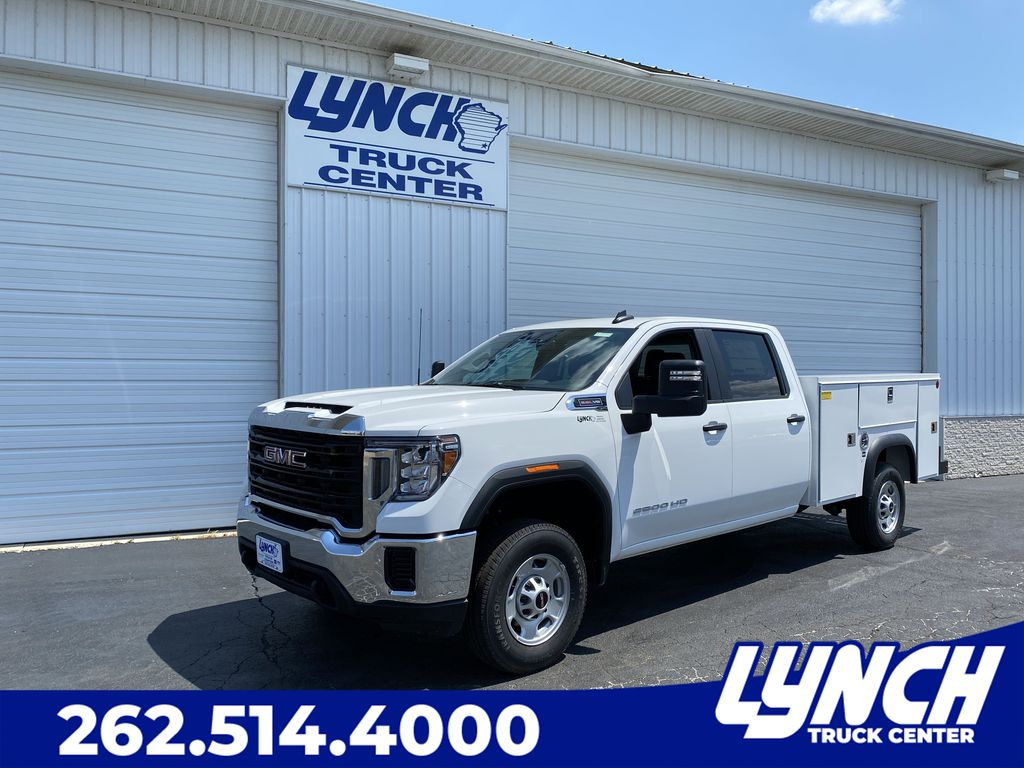 2020 GMC Sierra 2500 Crew Cab 4x2, Monroe Service Body #23142T - photo 1