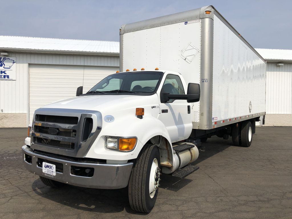 2013 F-750 Regular Cab DRW 4x2, Morgan Dry Freight #9105 - photo 1