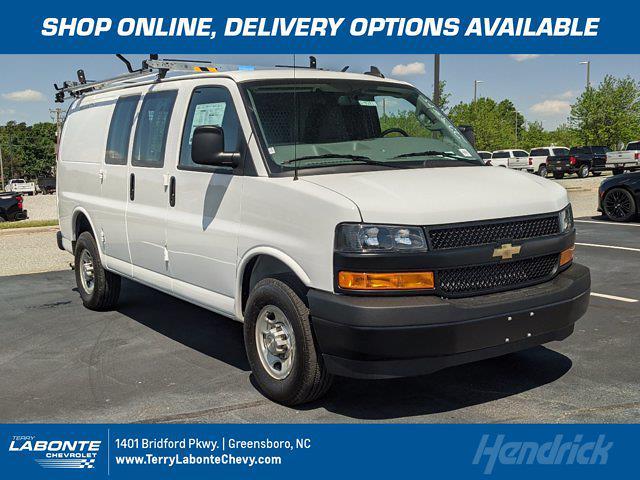 2021 Chevrolet Express 2500 4x2, Adrian Steel Upfitted Cargo Van #CM9257 - photo 1