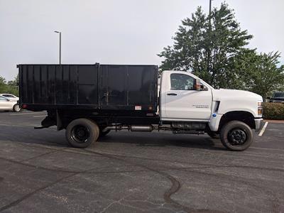 2021 Silverado Medium Duty Regular Cab DRW 4x4,  Landscape Dump #CM9379 - photo 3