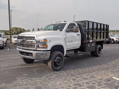 2021 Silverado Medium Duty Regular Cab DRW 4x4,  Landscape Dump #CM9379 - photo 7