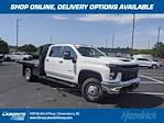 2021 Silverado 3500 Crew Cab 4x2,  Monroe Truck Equipment Work-A-Hauler II Platform Body #CM9549 - photo 1