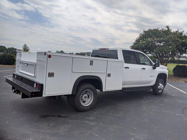 2021 Silverado 3500 Crew Cab 4x2,  Monroe Truck Equipment MSS II Service Body #CM9550 - photo 2