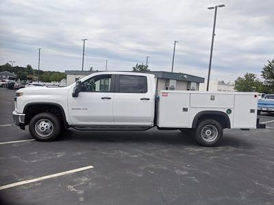 2021 Silverado 3500 Crew Cab 4x2,  Monroe Truck Equipment MSS II Service Body #CM9550 - photo 6