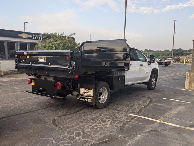 2021 Silverado 3500 Crew Cab AWD,  Dump Body #CM9614 - photo 2