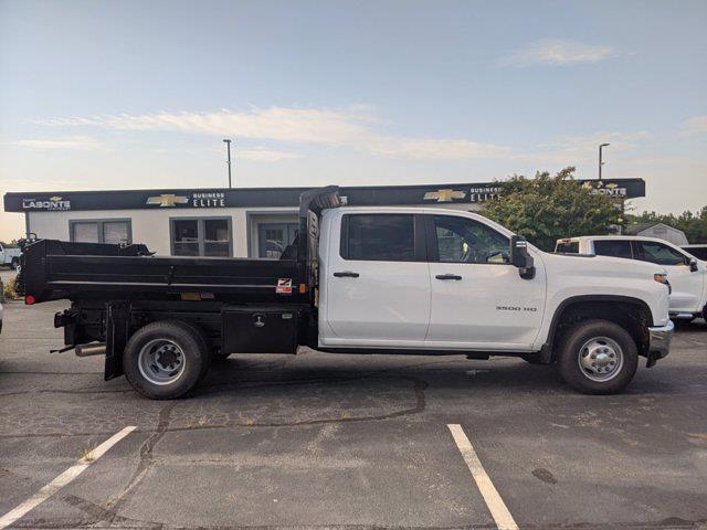 2021 Silverado 3500 Crew Cab AWD,  Dump Body #CM9614 - photo 9