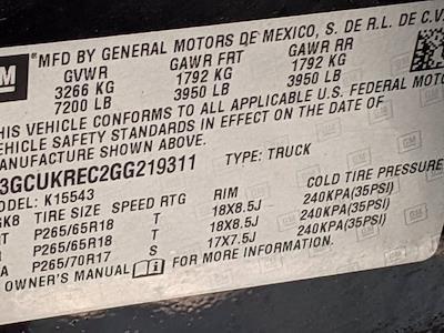 2016 Chevrolet Silverado 1500 Crew Cab 4x4, Pickup #M9114A - photo 42