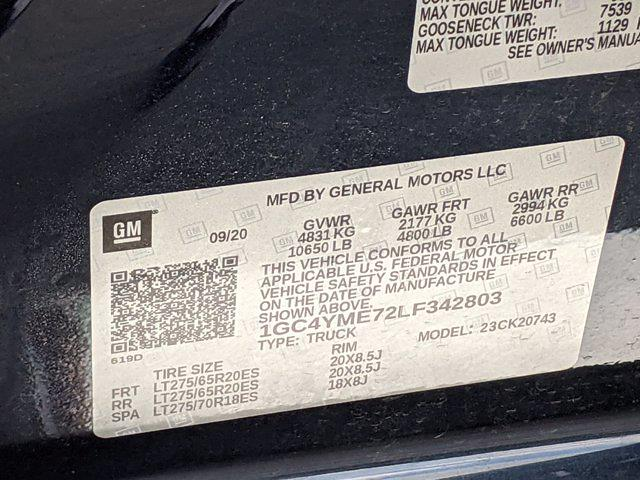 2020 Chevrolet Silverado 2500 Crew Cab 4x4, Pickup #M9417A - photo 43