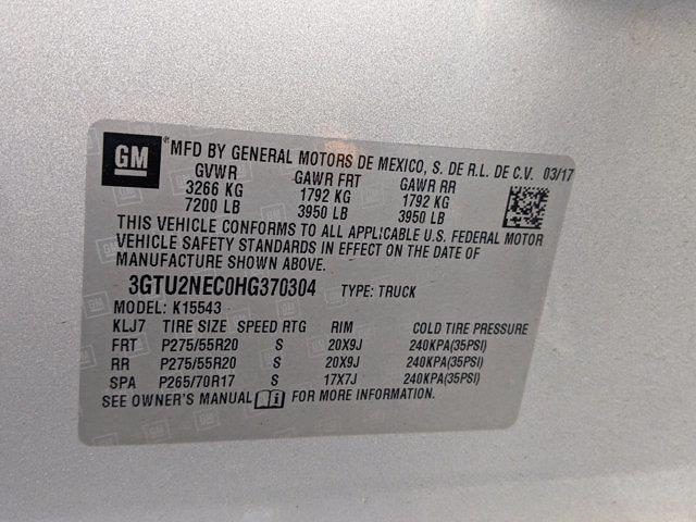 2017 Sierra 1500 Crew Cab 4x4,  Pickup #M9489B - photo 33