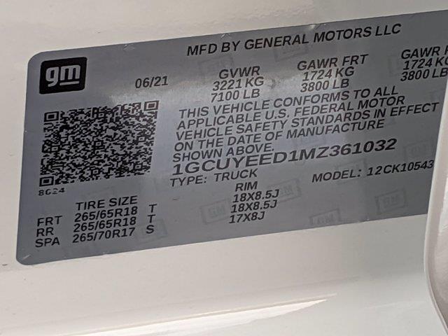 2021 Chevrolet Silverado 1500 Crew Cab 4x4, Pickup #M9533 - photo 39