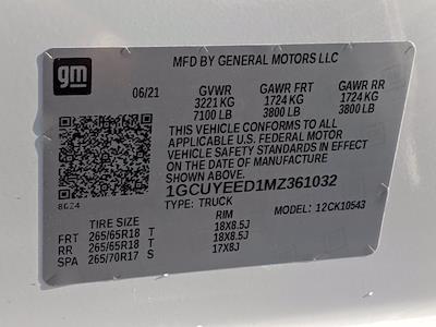2021 Chevrolet Silverado 1500 Crew Cab 4x4, Pickup #M9533 - photo 32
