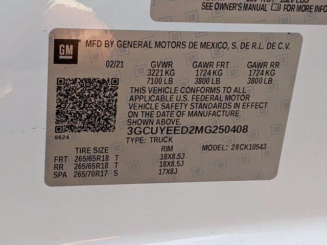 2021 Silverado 1500 Crew Cab 4x4,  Pickup #M9535 - photo 32