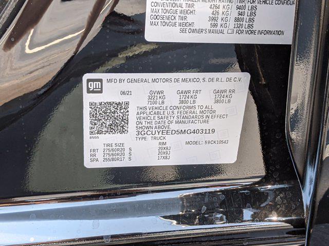 2021 Chevrolet Silverado 1500 Crew Cab 4x4, Pickup #M9638 - photo 39