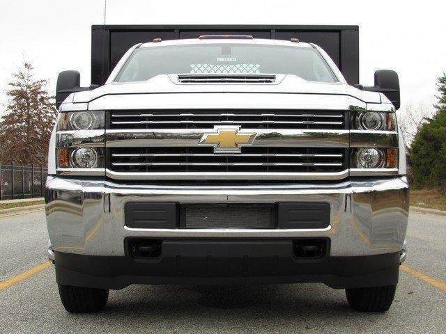 2017 Silverado 3500 Regular Cab DRW 4x4,  Knapheide Platform Body #MG3859 - photo 3