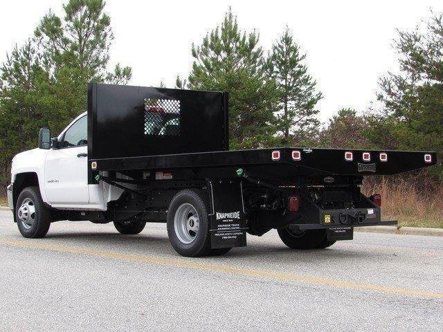 2017 Silverado 3500 Regular Cab DRW 4x4,  Knapheide Platform Body #MG3859 - photo 7