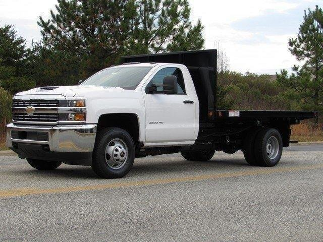 2017 Silverado 3500 Regular Cab DRW 4x2,  Freedom Platform Body #MG3950 - photo 4