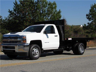 2017 Silverado 3500 Regular Cab DRW 4x2,  Freedom Workhorse Platform Body #MG3965 - photo 4
