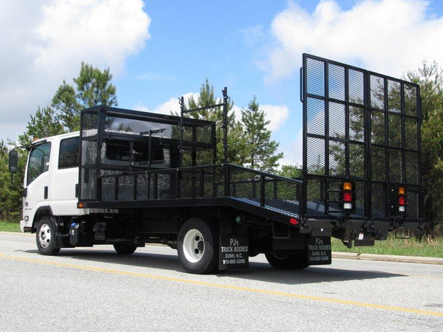 2018 LCF 4500HD Crew Cab 4x2,  PJ's Dovetail Landscape #MH4166 - photo 8